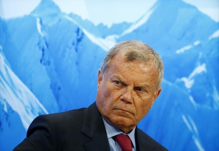 CEO WPP Martin Sorrell /// Ảnh: Reuters