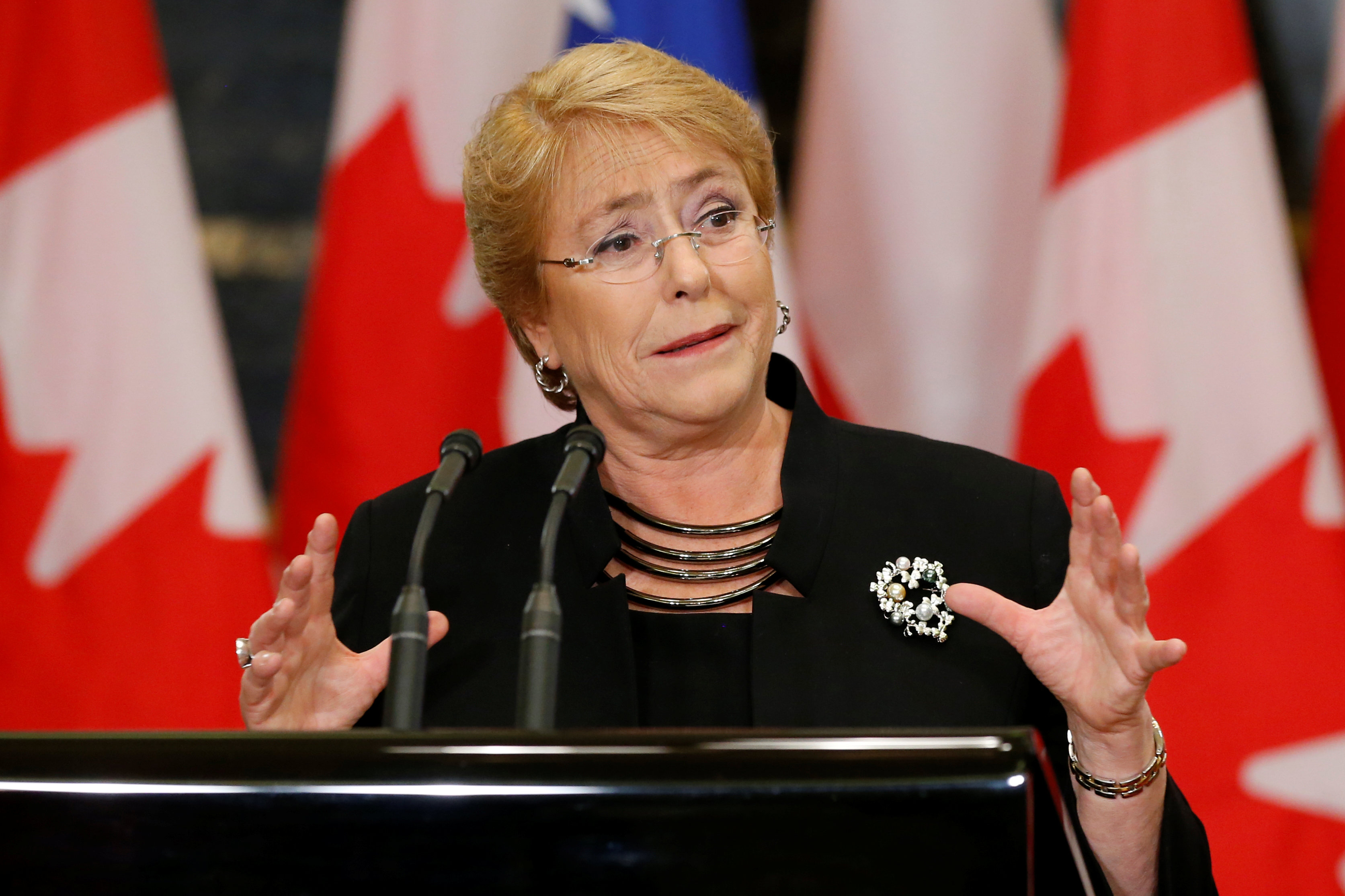 Tổng thống Chile Michelle Bachelet /// Reuters