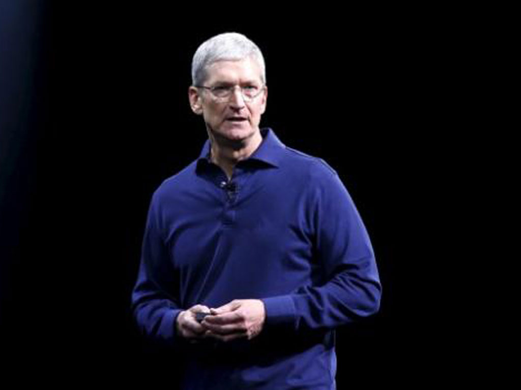 Tim Cook, CEO của Apple  /// Ảnh: Reuters