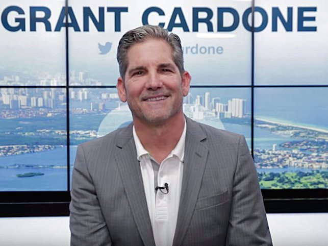Tỷ phú Grant Cardone /// Businessinsider
