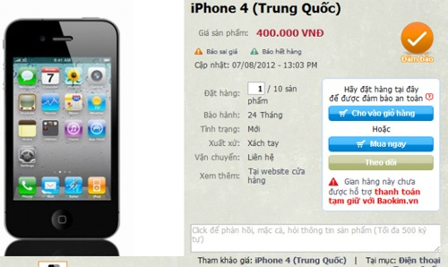 iPhone Trung Quốc