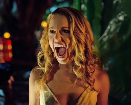 Jessica Rothe trong phim Happy death day
