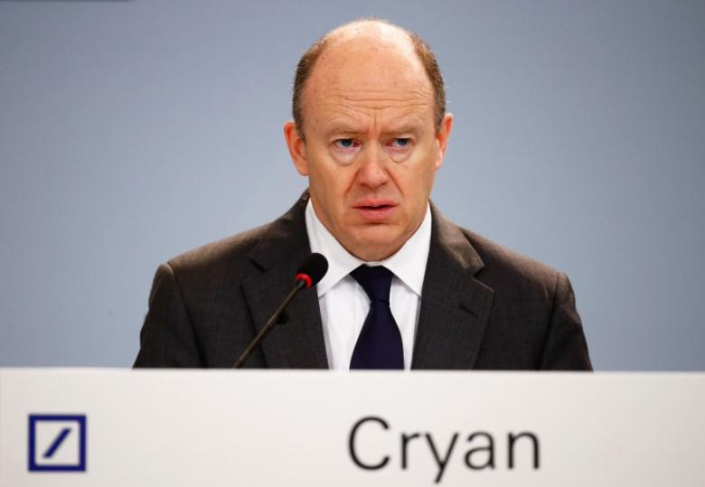 CEO Deutsche Bank John Cryan /// Reuters