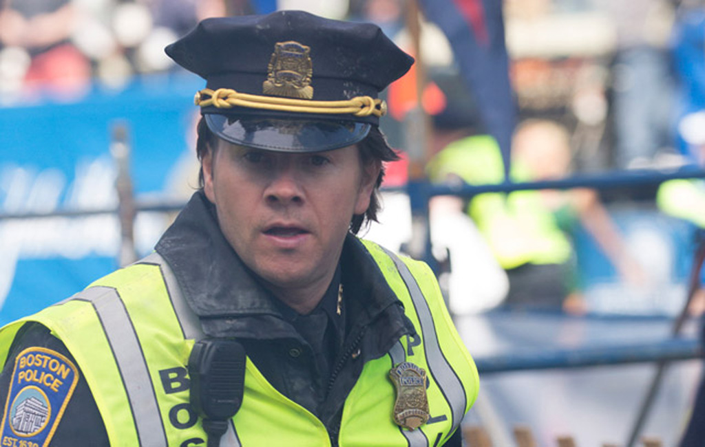 Mark Wahlberg trong 'Patriots day'  /// Ảnh: Cắt từ clip