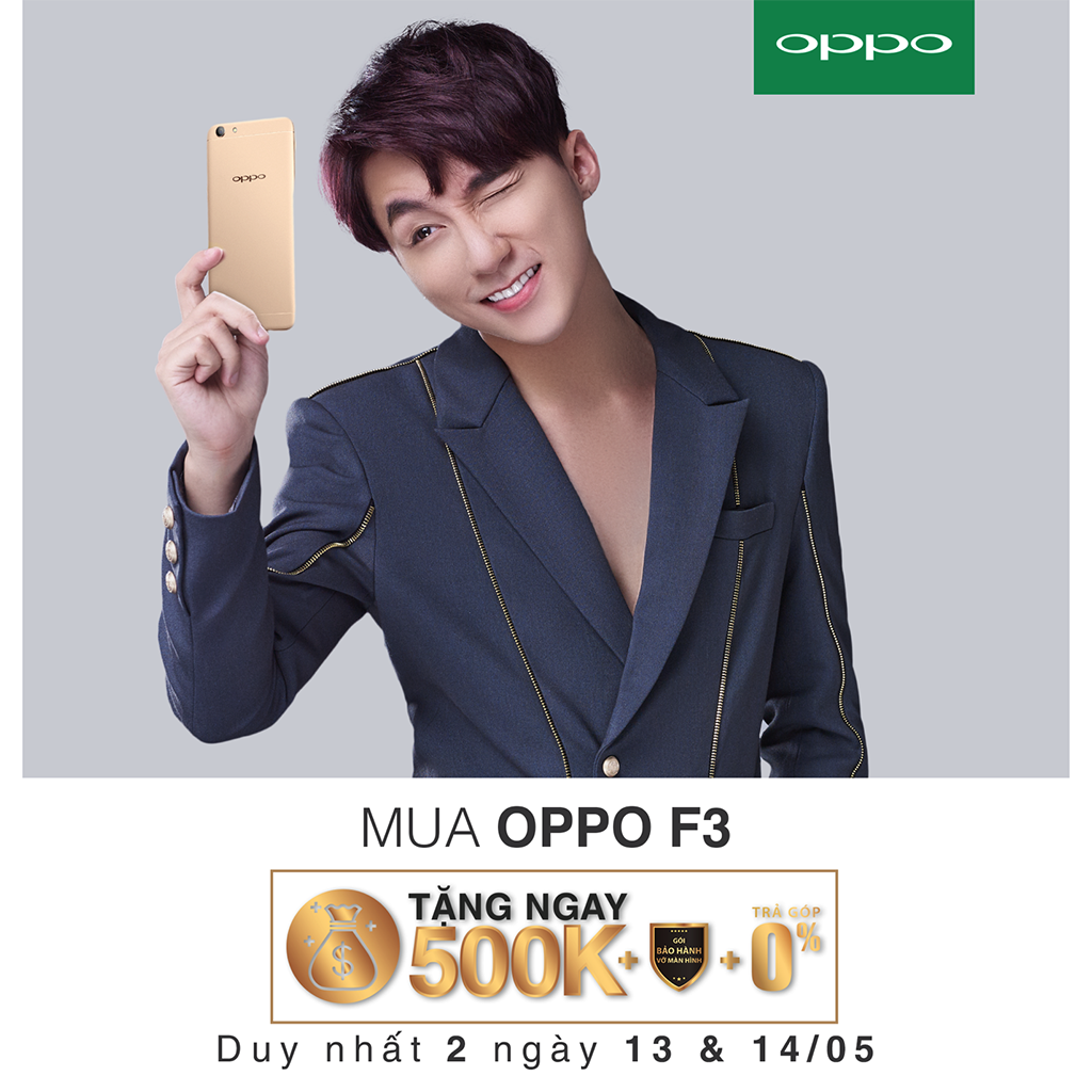 Khách hàng xếp hàng dài chờ mua OPPO F3 tại Viễn Thông A