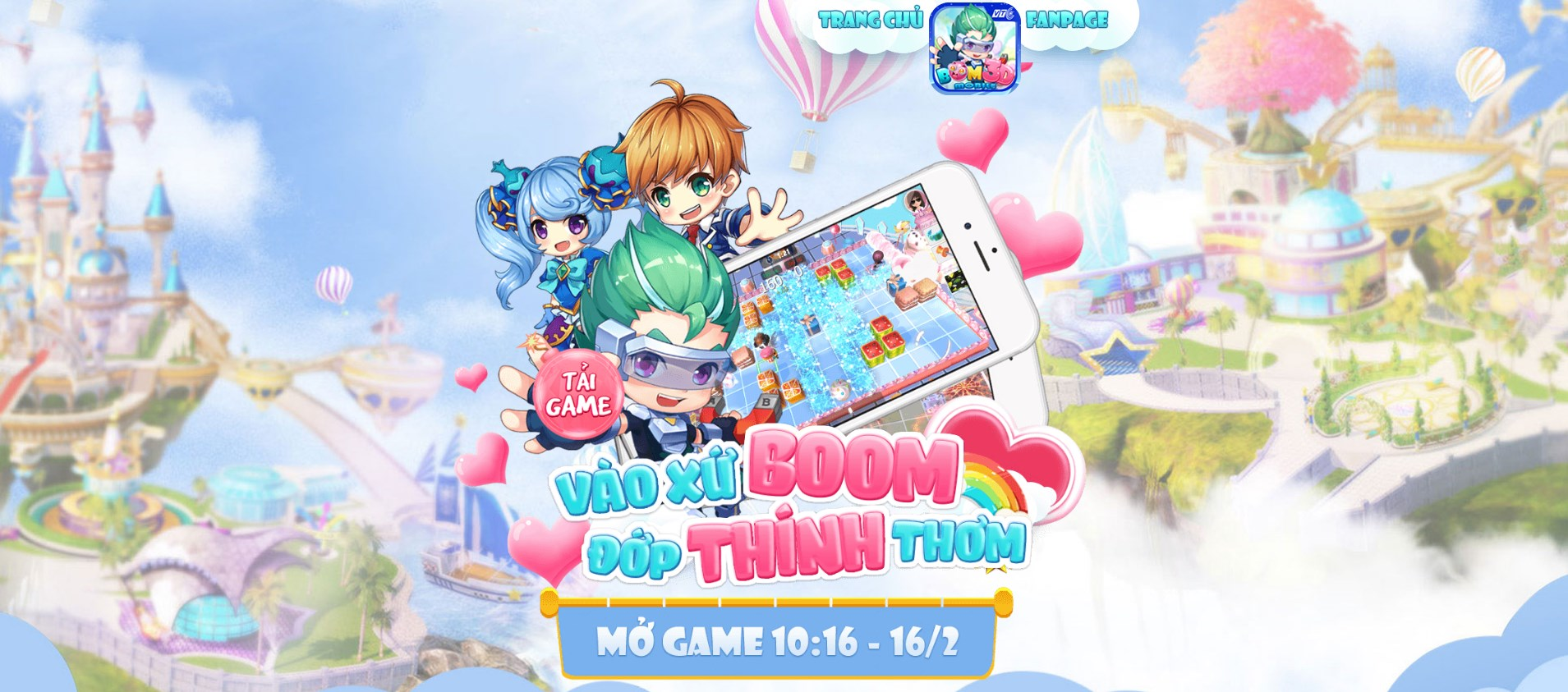 Boom 3D Mobile ra mắt, tặng Giftcode khủng