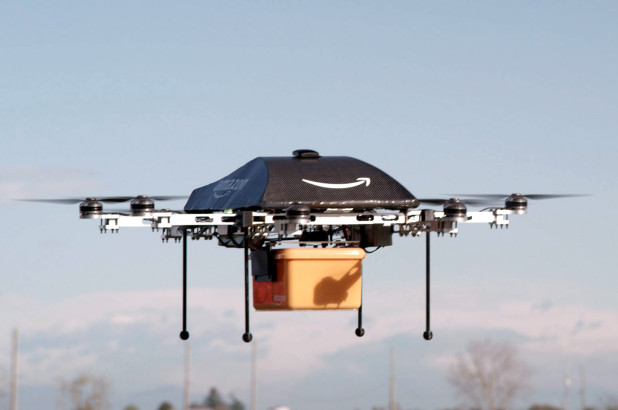 Drone giao hàng của Amazon /// Ảnh: AFP/Getty Images
