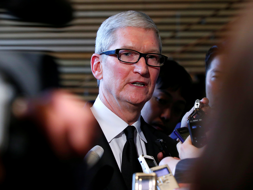 CEO Apple Tim Cook /// Reuters