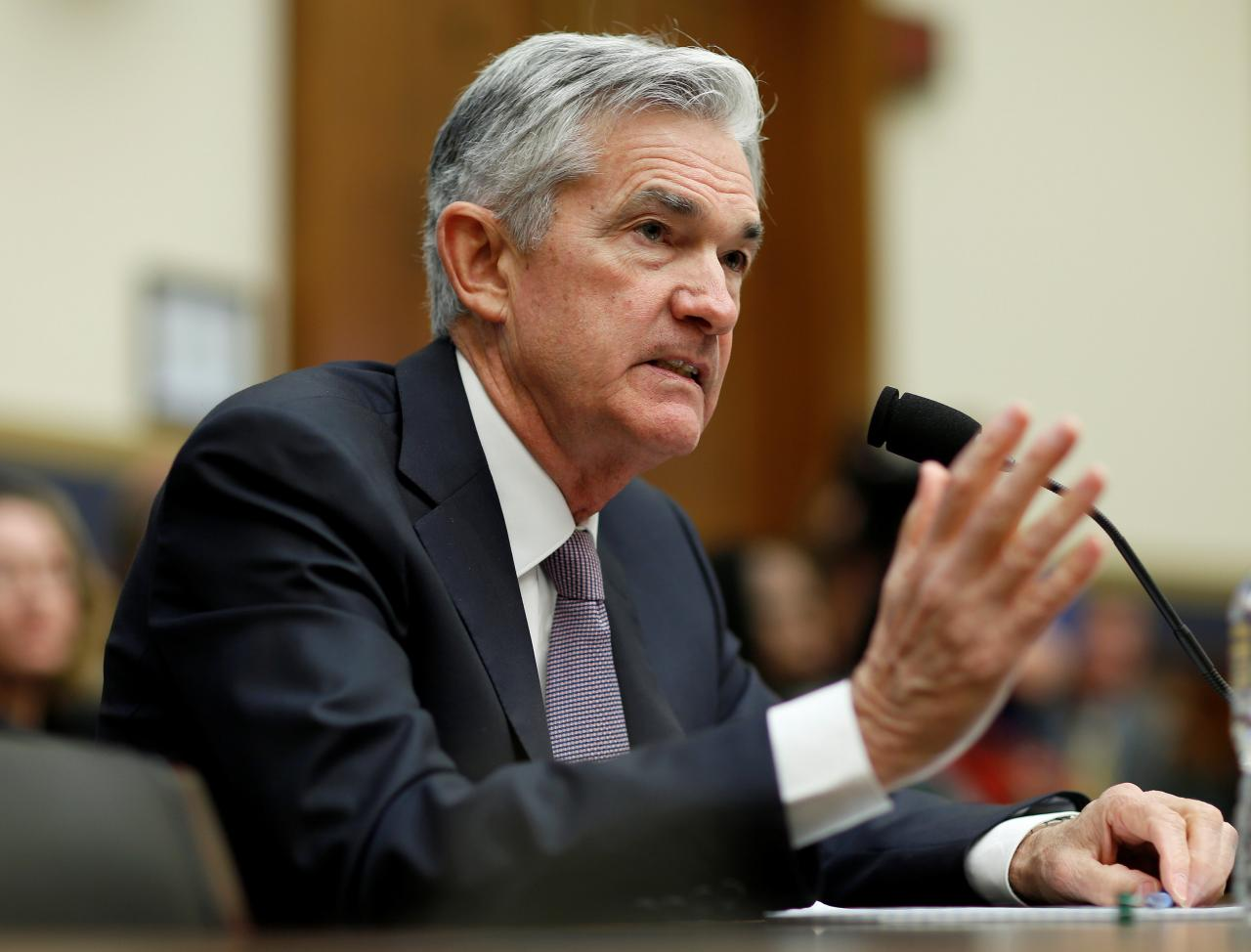 Chủ tịch Fed Jerome Powell /// Ảnh: Reuters