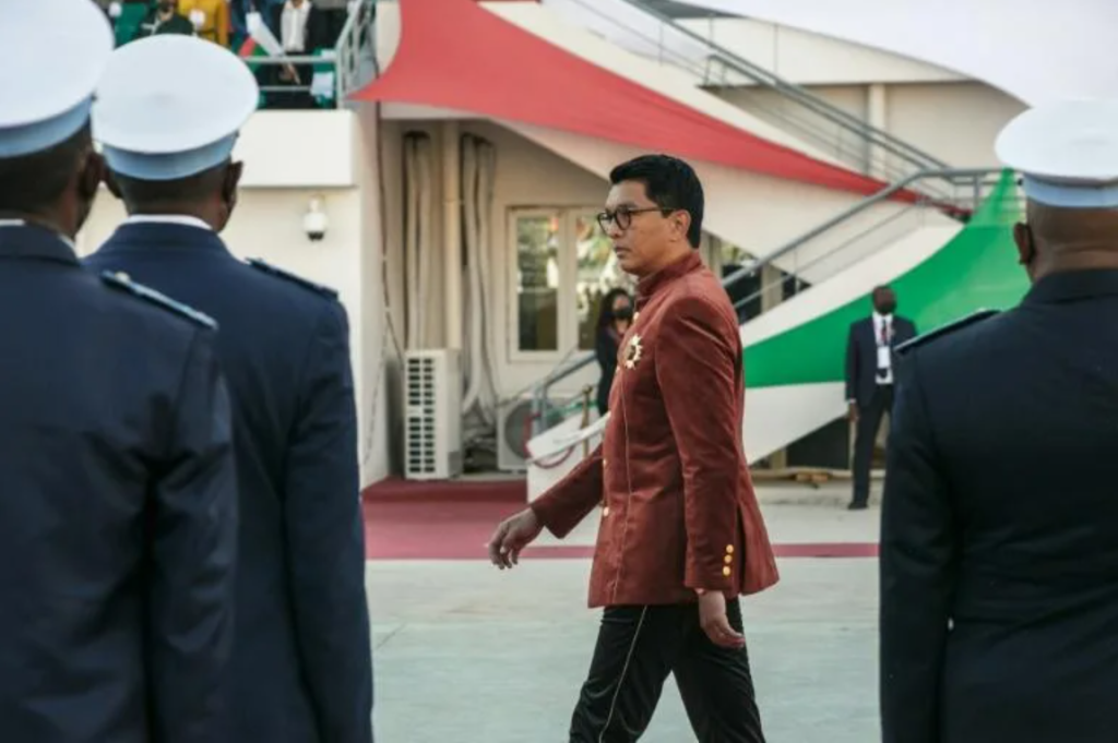 Tổng thống Andry Rajoelina  /// AFP/Getty