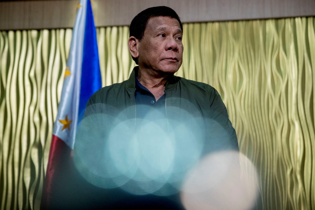 Tổng thống Philippines Duterte /// Reuters