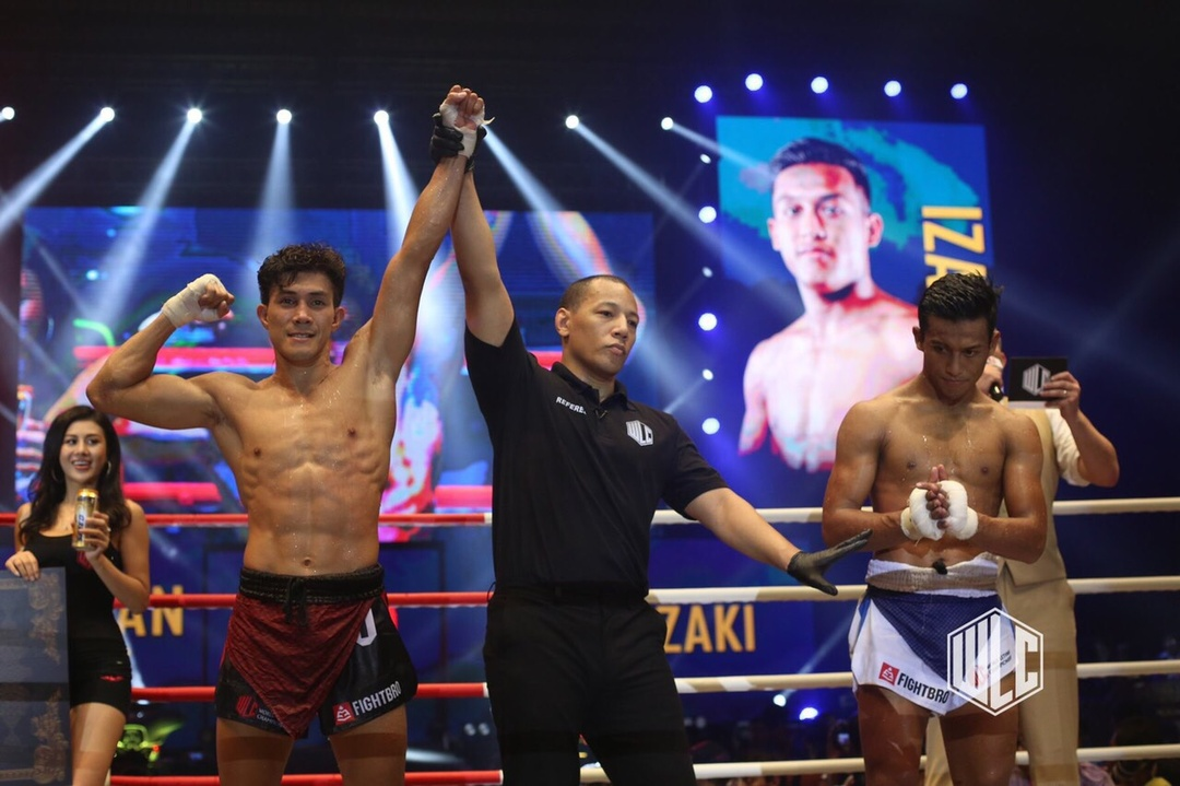 Nguyen Tran Duy Nhat beats Izat Zaki as a World Lethwei Championship athlete