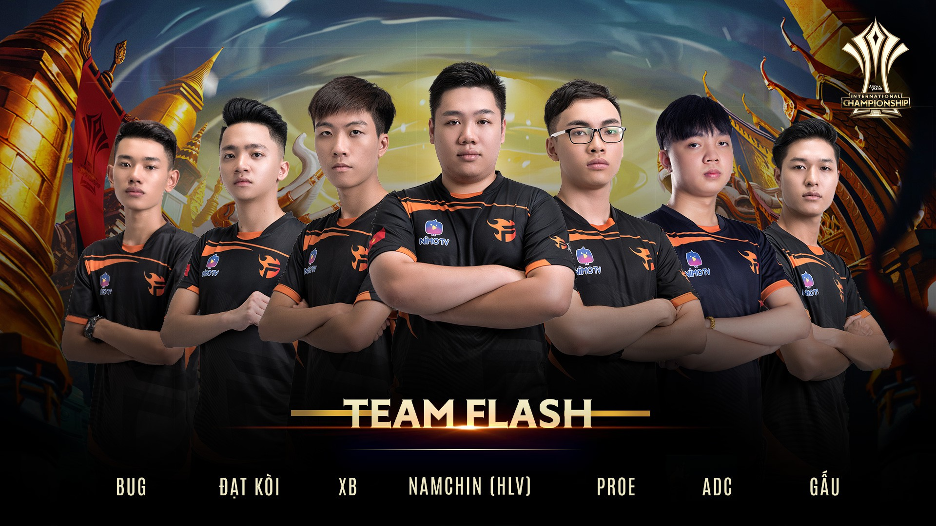 Team Flash lọt vào top 4 đội tuyển mạnh nhất thế giới tại AIC 2018