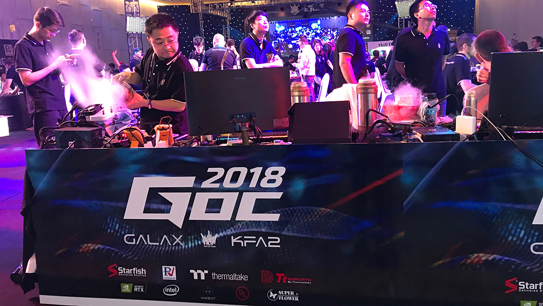 GOC 2018 - GALAX: Ngày hội dành cho game thủ đam mê công nghệ