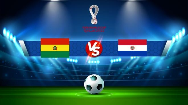 world cup bolivia paraguay 455801