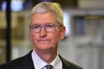 CEO Tim Cook /// AFP/Getty Images