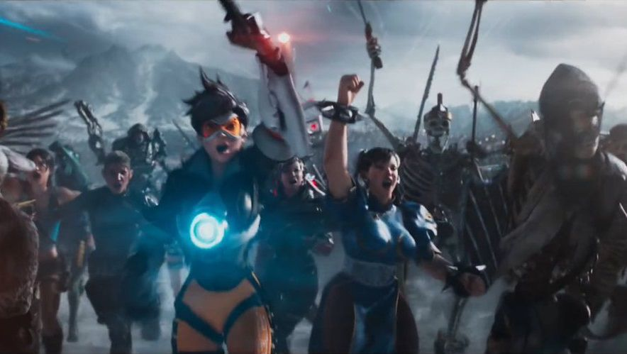 Tracer của Overwatch góp mặt trong trailer phim Ready Player One