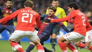 Champions League 2012: Spartak Moscow vs Barcelona 0 - 3