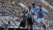 PremierLeague: Newcastle vs M.C 1-3