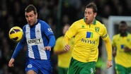 PremierLeague: Norwich vs Wigan 2-1