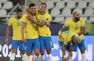 Highlights Brazil 2-1 Colombia: Firmino, Casemiro giúp Selecao thắng nghẹt thở