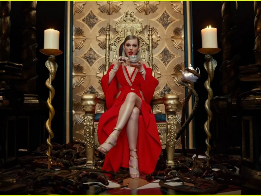 """Một Taylor Swift thật khác trong """"Look What You Made Me Do"""""""