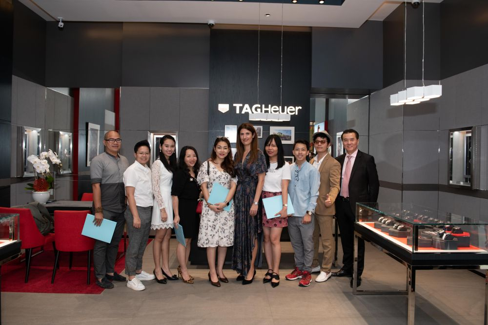 Ra mắt boutique mới của TAG Heuer