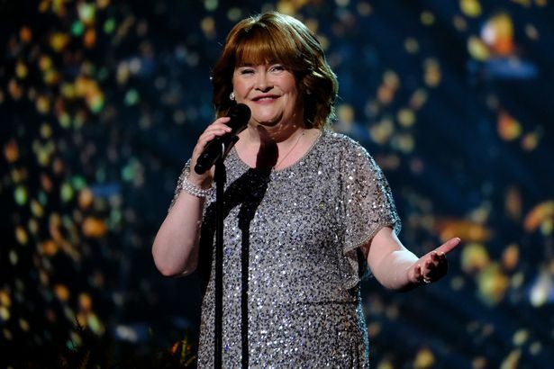 Susan Boyle xuất hiện trong 'America's Got Talent: The Champions' /// Ảnh: Getty images