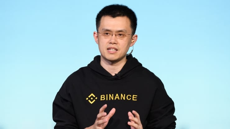 CEO Binance  /// Ảnh: AFP/Getty Images