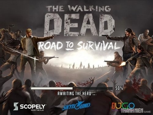 Trải nghiệm The Walking Dead: Road To Survival - Cuộc chiến sống còn