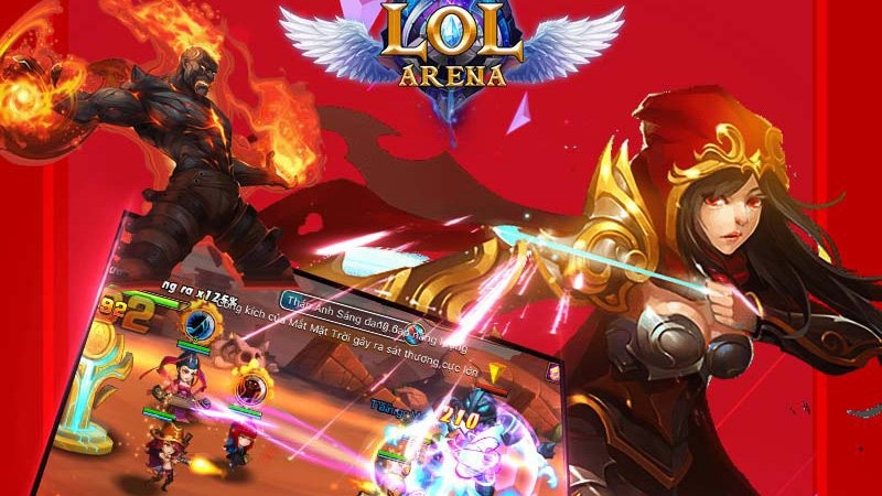 LOL Arena tặng giftcode mừng ra mắt game