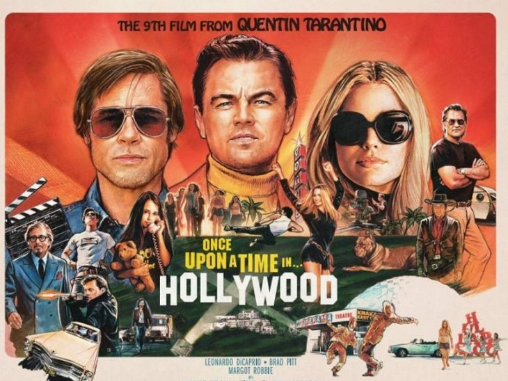 'Once upon a time in Hollywood' đại thắng 3 giải Quả Cầu Vàng. /// Ảnh: Columbia Pictures