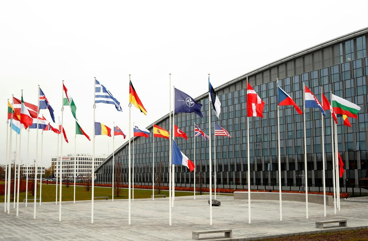Trụ sở của NATO ở Brussels, Bỉ /// Reuters