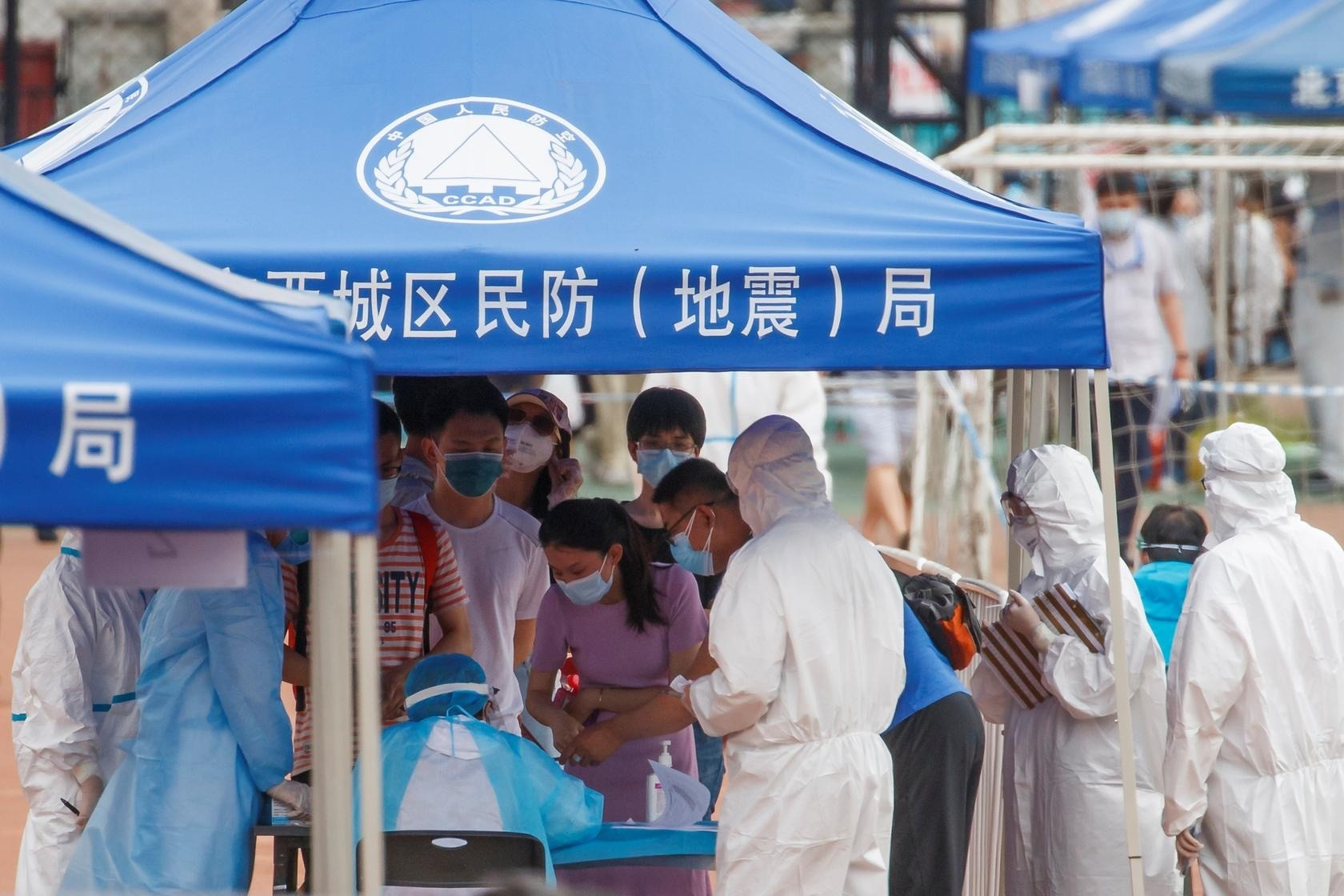 Nanjing airport outbreak spread, China tested Covid-19 for millions of people - Photo 2