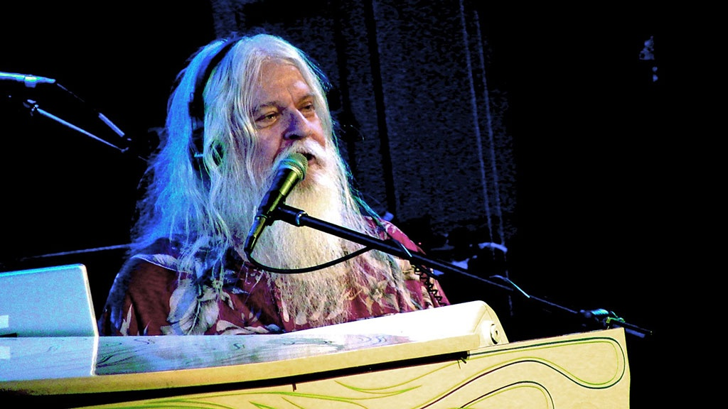 Leon Russell /// Ảnh: AFP/Getty Images