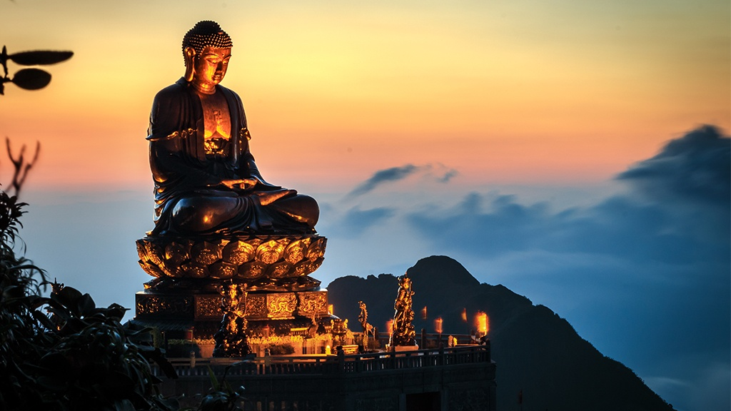 Great Buddha statue on Mount Fansipan has just been recognized 2 world records /// Photo provided by SWFL