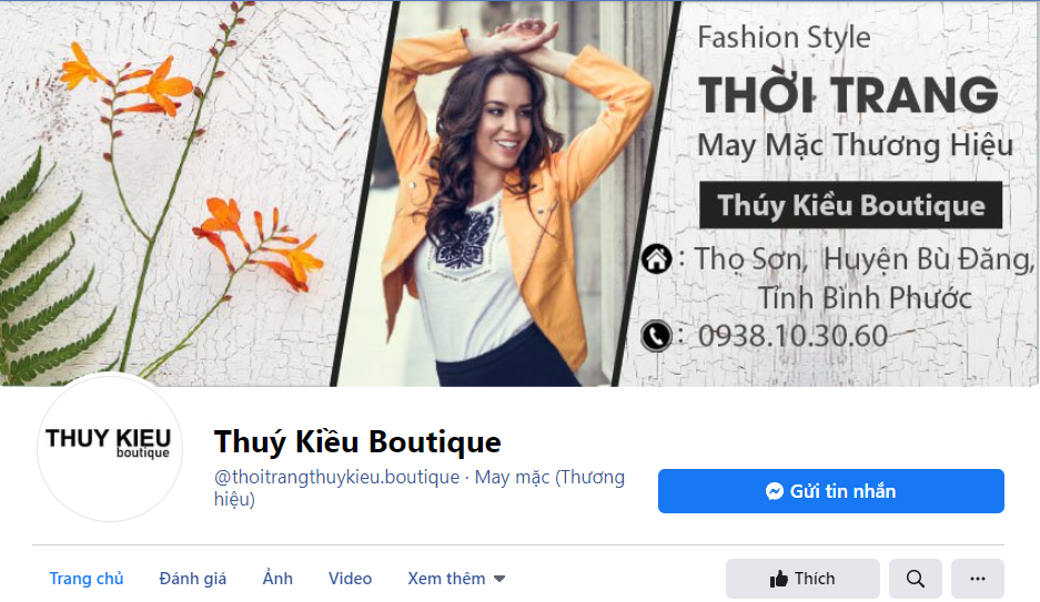 Facebook Thúy Kiều Boutique