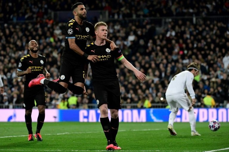 Man City muốn đá bại Real Madrid khỏi Champions League /// REUTERS