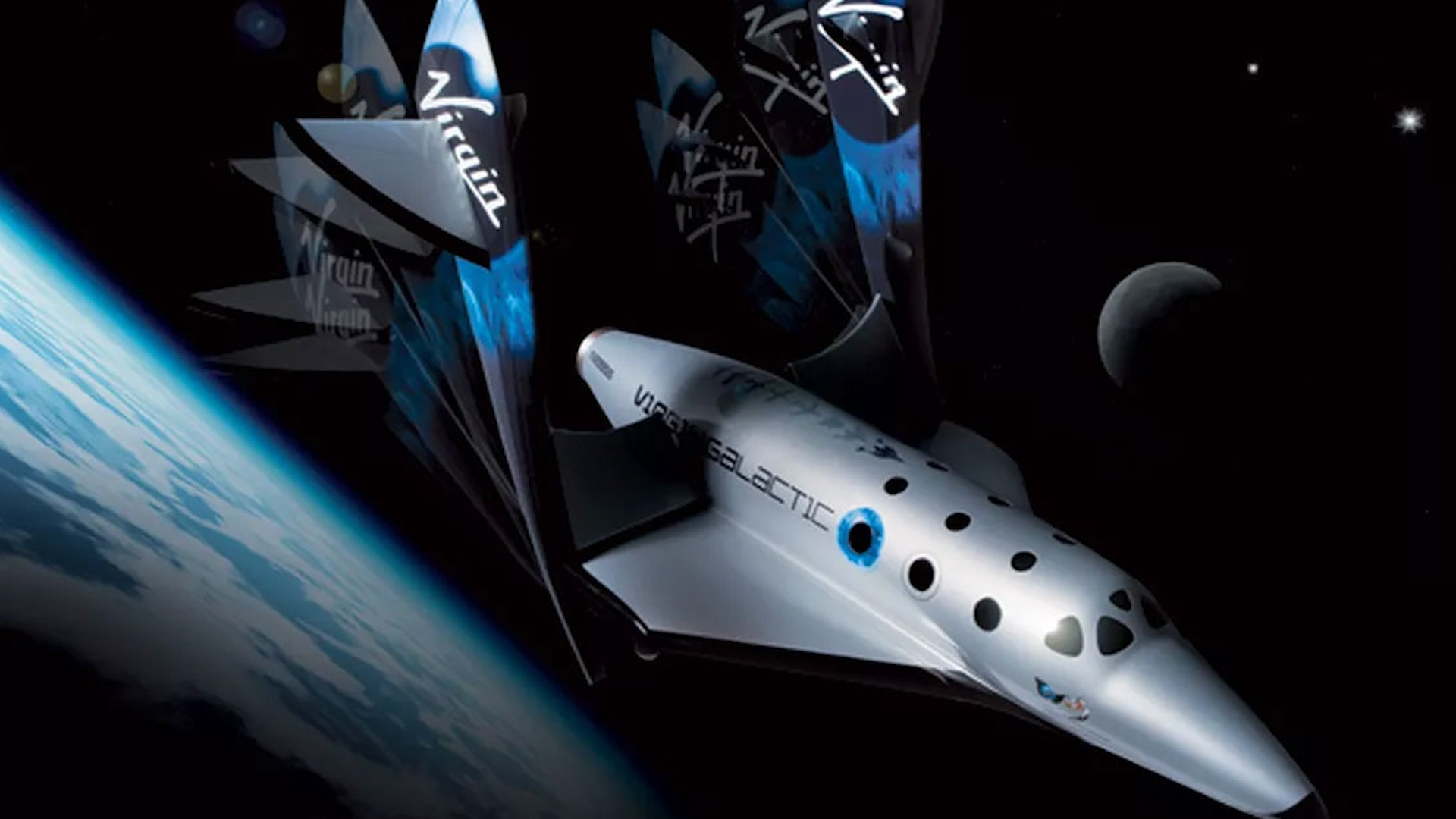 Which billionaire is winning the race to space?  - 3 . photo