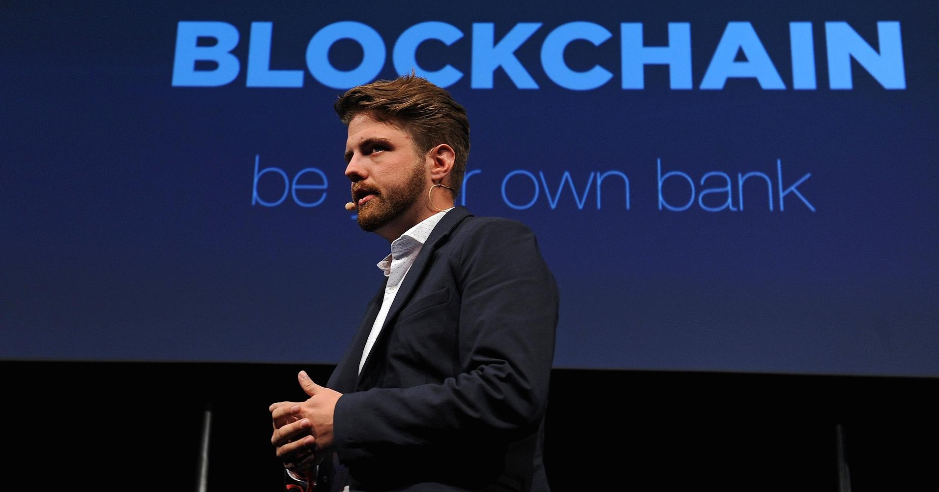 CEO Blockchain Peter Smith /// Ảnh: Bloomberg
