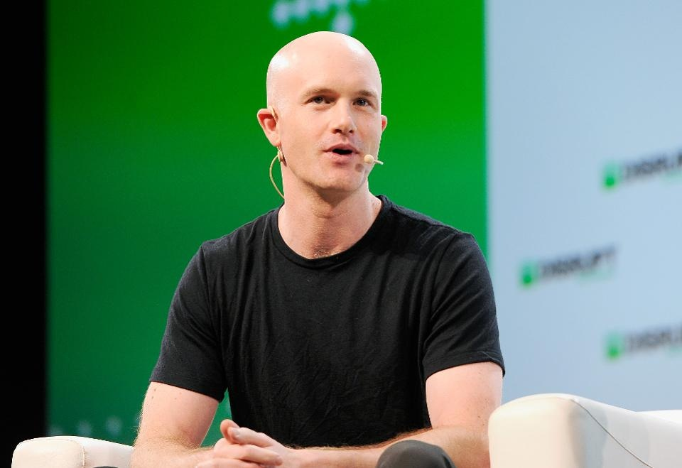CEO Coinbase Brian Armstrong /// Ảnh: AFP/Getty Images
