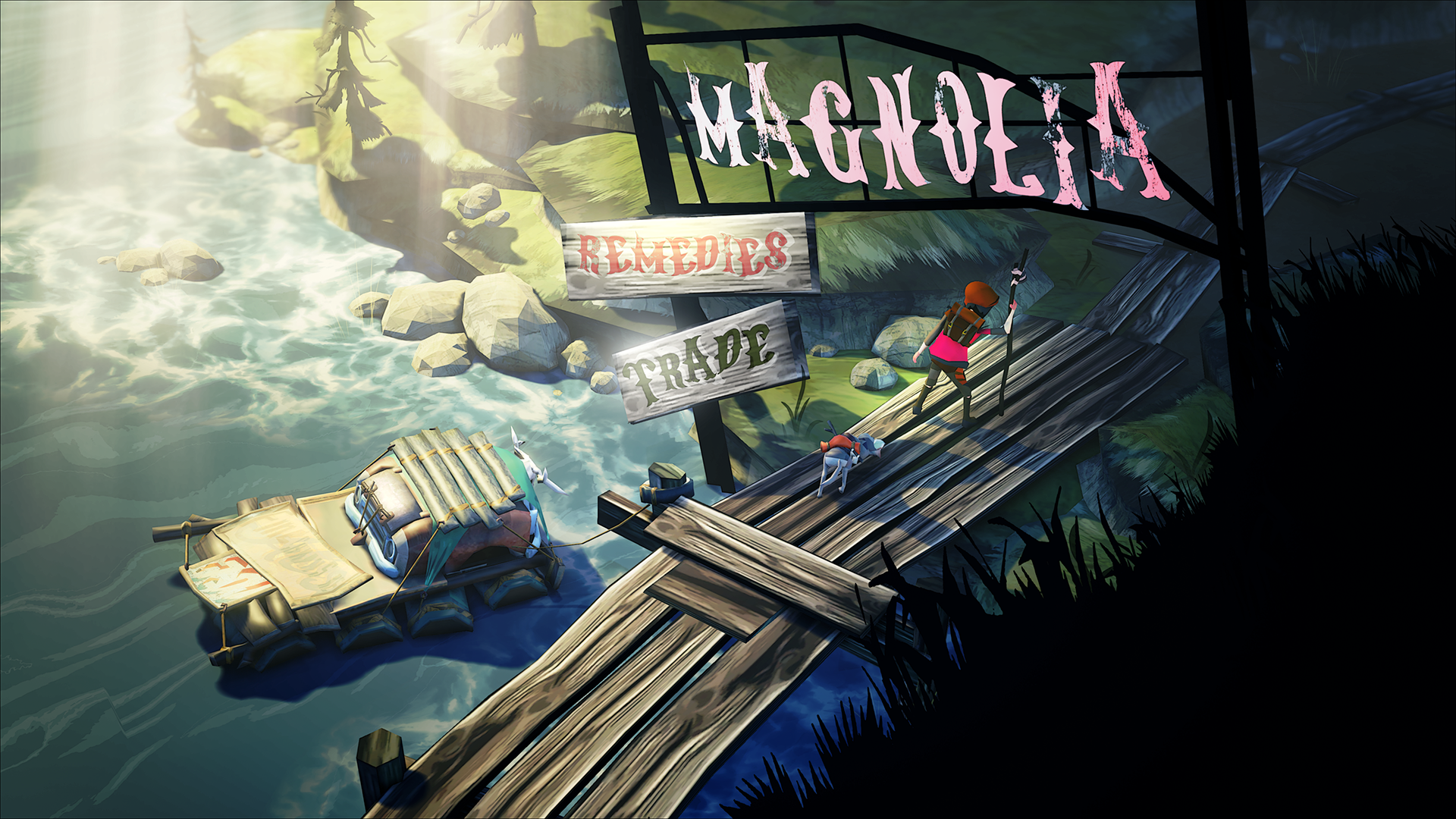Game sinh tồn The Flame in the Flood lên Switch trong tháng 10