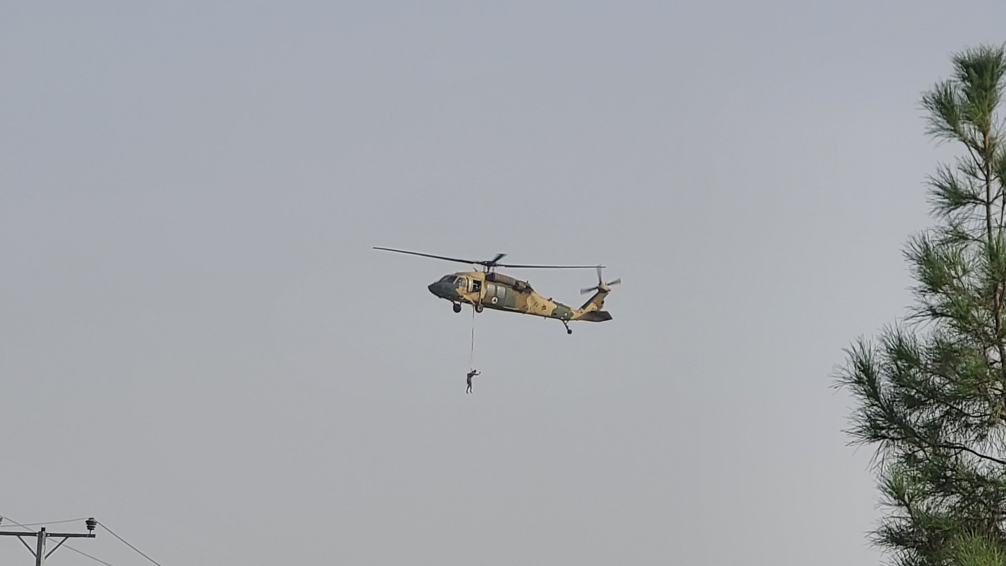 Taliban 'hanged people' from Black Hawk helicopter - real or fake?  - photo 2
