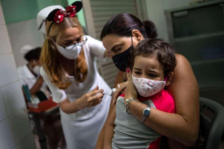 What do you know about the Cuban Abdala vaccine that has just been approved by the Ministry of Health?  - 3 . photo