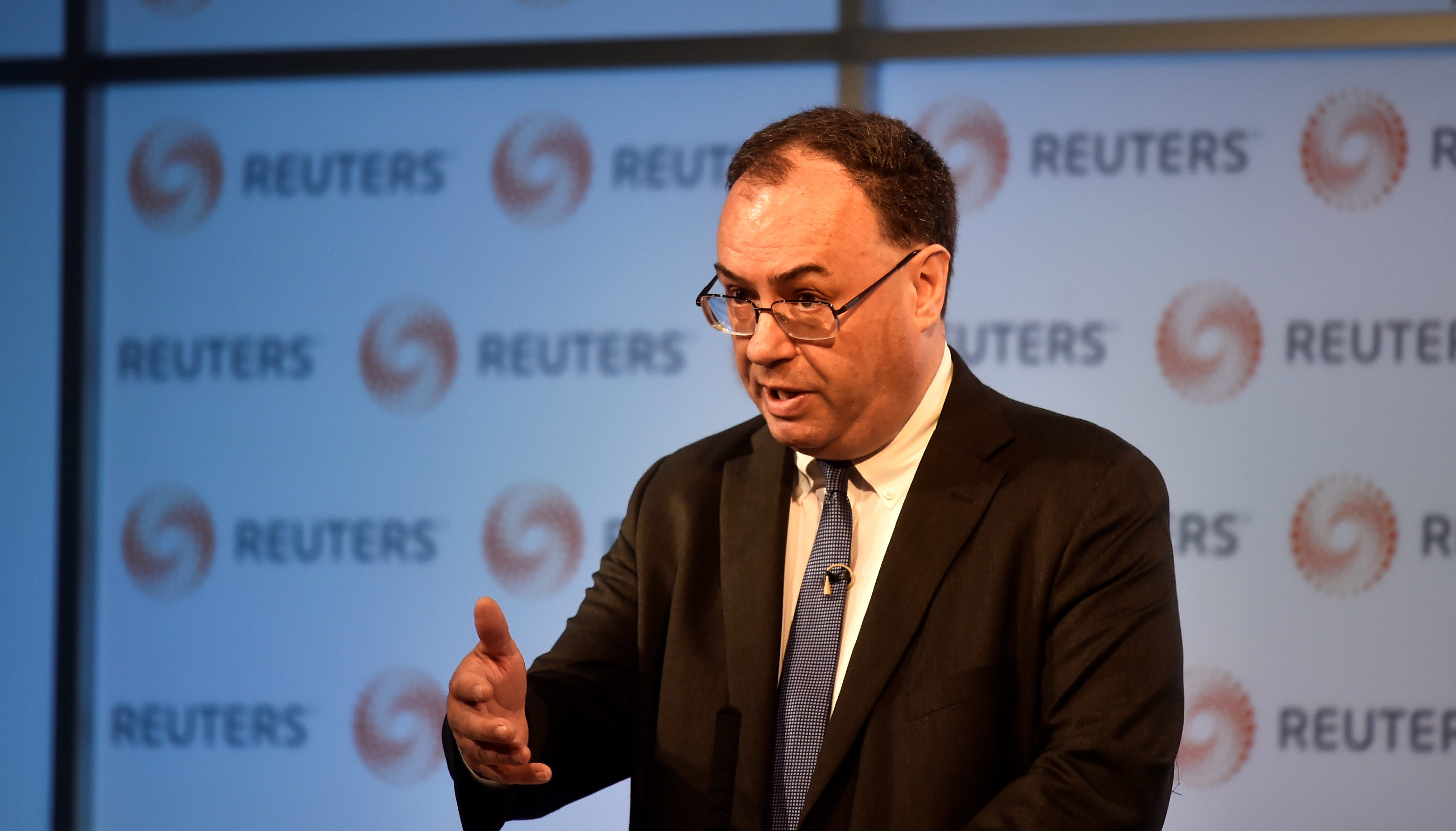 Ông Andrew Bailey  /// Ảnh: Reuters