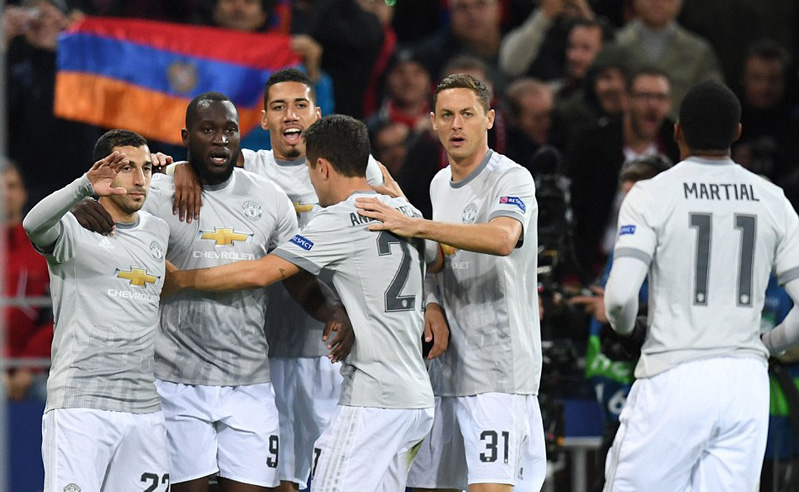 Manchester United thắng đẹp CSKA Moscow 4-1