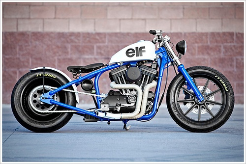 "DP Customs '95 Harley Sportster - ""del Rey"""