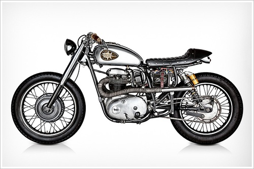 Tattoo Project's 1970 BSA Lightning