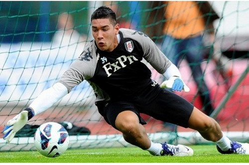 Philippines mất thủ thành Neil Etheridge ở AFF Cup 2012