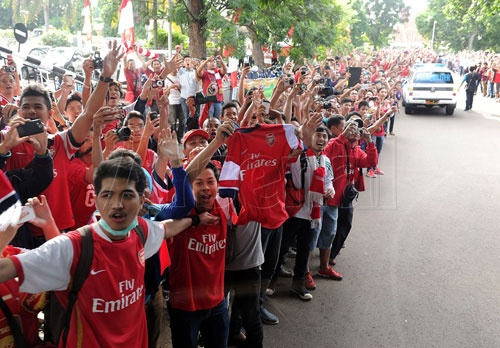 Arsenal gây sốt 1
